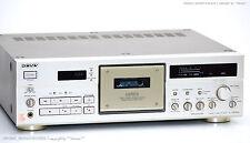 Sony tc-k970es haut de gamme cassette audio Deck il série!!! TOP! attendu +1j. GARANTIE!