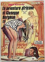 Le avventure africane di Giuseppe Bergman 2 Milo Manara Nuova Frontiera