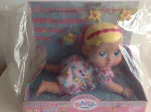 Baby Born Crawling Doll Funny Faces Baby Born Interactive Zapf Creations New