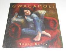 GWACAMOLI - TOPSY TURVY - 2000 UK CD SINGLE IN CARD SLEEVE