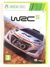 Jeu WRC 5 Sur Xbox 360 Console Microsoft