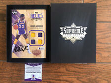 2016-17 Upper Deck Supreme Hard Court Autograph Quad Patch Relic Magic Johnson