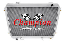 3 Row Cold Champion Radiator for 1995 96 97 98 99 00 01 02 03 2004 Toyota Tacoma