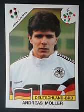 Panini 202 Andreas Möller Deutschland WM 90 World Cup Story