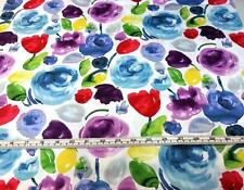 DEAR STELLA ADELAIDE FLORAL WASH FLOWERS COTTON QUILT FABRIC