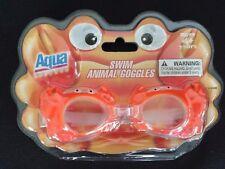 Aqua Leisure Swim Animal Goggles Orange Crab
