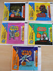 TOPPS STAR WARS WAX WRAPPERS SET 1977 SERIES 1-5 EXCELLENT CONDITION