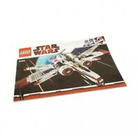1x Lego Bauanleitung A4 Star Wars ARC-170 Starfighter Raumjäger 8088