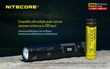 Nitecore EC23 Flashlight w/1x 18650 3100 mAh Battery & USB 18650 Charger