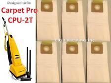 Carpet Pro H.E.P.A Vacuum Cleaner Bags, CPU-2T Commercial Vacuum Bags  # (CPH-6)