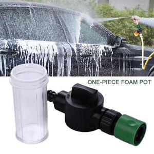Adjustable High Pressure Snow Foam Washer Jet Lance Bottle Car Wash Spray Gun