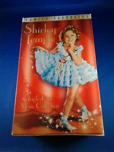Shirley Temple Gift Set (VHS, 2000, 3-Tape Set) Pre-owned
