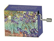 "Music Box - Design ""Irises"" by Van Gogh, Melody: Fur Elise by Beethoven"