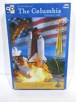 "Challenger Puzzle #STS-107 Historical 1000 Piece Feb 2003 17.5"" X 26.5"" NIB"