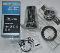 XTR - Movimento centrale Shimano XTR SM-BB93 +anelli distan +TL-FC24 68-73mm-NEW