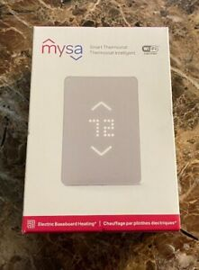 NEW Mysa Smart Thermostat for Electric Baseboard Heaters - White