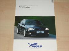 64273) Ford Mondeo Wolf Zubehör Prospekt 05/2003