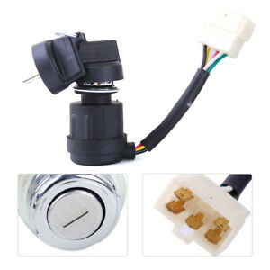 5 Wire Ignition Key Start Switch Fit for 170F 178FA 178F 186FA Diesel Generator