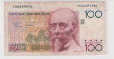 Mazuma *F200 Belgium 100 Francs 1982-94 13006390536 VF