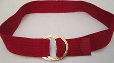 PEDRO DEL HIERRO  ceinture authentique en toile tressée
