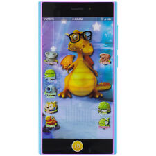 Learning Toy Mobile Dinosaur Phone Gift for Kids Children w/ Projection Function