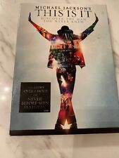 DVD MICHAEL JACKSON THIS IS IT DELUXE COLLECTOR'S EDITION BRAND NEW