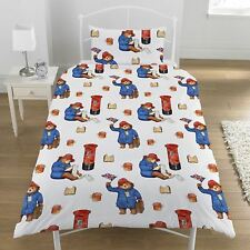 PADDINGTON BEAR POSTBOX SINGLE DUVET COVER SET KIDS BEDDING