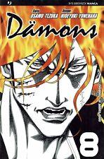 Damons  8 di Osamu Tezuka ed.JPop NUOVO sconto 50%