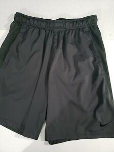 Nike Dri-Fit Men's Running Training Linerless Dark Gray Shorts Size Large