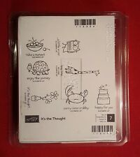 Stampin Up IT'S THE THOUGHT crab owl birthday turtle all occasion