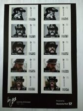More details for lemmy kilmister 1945-2015 limited edition stamps 70ct (motorhead)