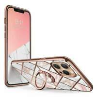 For Iphone 12 Case/12 Pro Case W/built-in Rotatable Ring Holder & Car Mount - 2
