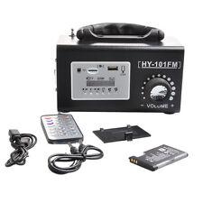 Stereo FM Radio HIFI Speaker MP3 Music Player USB TF Card U Disk Remote New