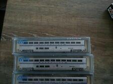 Kato n gauge coaches Amtrak passenger car  phase IV set B