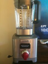 Wolf Gourmet High Performance Blender - New Out of Box - Red Knob - Wgbl100S
