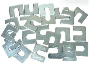"""Jeep Body & Fender Alignment Shims- 1/16"""" & 1/8"""" Thick- 24 shims (12ea)- #397T"""