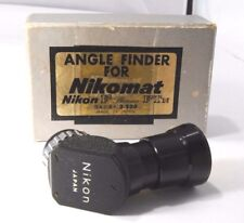 Nikon F Photomic right angle Finder Nikomat  Viewfinder Genuine 90-degree boxed