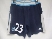Short OM OLYMPIQUE de MARSEILLE vintage ADIDAS GALLAS n°23 away collection L