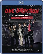 ONE DIRECTION - WHERE WE ARE: LIVE FROM SAN SIRO STADIUM  BLU-RAY NEU