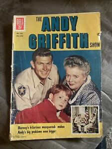 Andy Griffith Show Dell Comic Book 1962