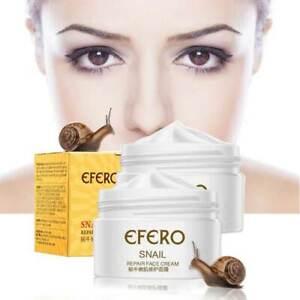 EFERO Anti Aging Snail Essence Face Cream Whitening Serum Moist Nour