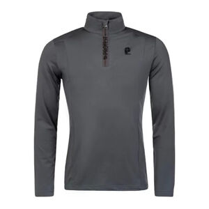Protest NEW Men's Willowy 1/4 Zip Top - Asphalt BNWT