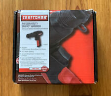Craftsman Medium Duty Impact Hammer Air Hardened Chisel Automotive Power Tool