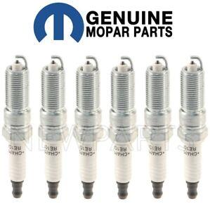For Chrysler Sebring Dodge Charge Set of 6 Spark Plugs Iridium Mopar 68303929AA