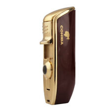 Cohiba Red Metal Windproof Cigar Lighter Punch Jet Flame Torch Refillable Butane