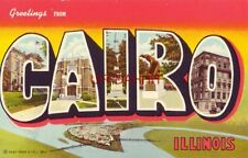 Greetings From Cairo, Illinois keys to various views