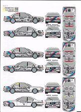 """BMW 635 CSI """"ORIGINAL TEILE"""" TWEM 1986 1/43 DECALS N/ AMR SOLIDO BAYMO"""