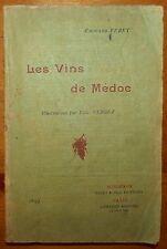 VERGEZ: Les Vins de Médoc / 1897 - EO