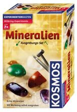Kosmos 630447  Ausgrabungs-Set Mineralien Experimentierkasten NEU