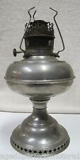 Antique Bradley & Hubbard B&H Oil Lamp turn of century pat dates 1904 burner